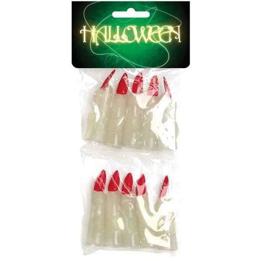 Witches Luminous Fingers 10pk