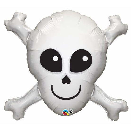 Happy Skull Supershape Balloon