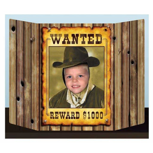 Wanted Photo Prop Decorations