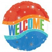 Warm Welcome Foil Balloon