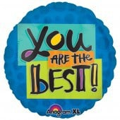 You Are The Best Foil Balloon - mypartymonsterstore