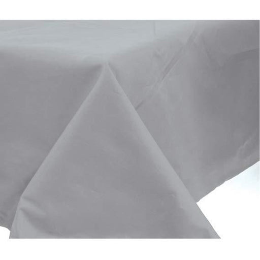 Silver Paper Tablecover 1pk