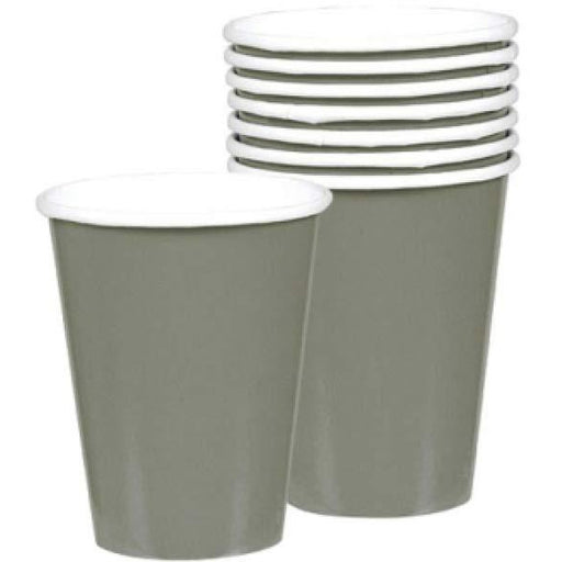 Silver Paper Cups 8pk