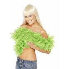 Green Deluxe Feather Boa