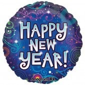 New Year 18 Inch Foil Balloon