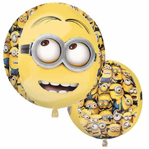 Despicable Me Minions Orbz Balloon - mypartymonsterstore