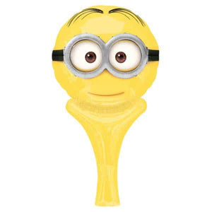 Despicable Me Minion Inflate A Fun Air Filled Balloon - mypartymonsterstore