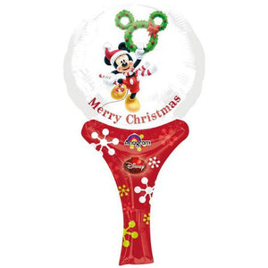 Mickey Christmas Inflate A Fun Air Filled Balloon - mypartymonsterstore