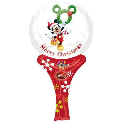 Mickey Christmas Inflate A Fun Air Filled Balloon