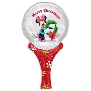 Minnie Christmas Inflate A Fun Air Filled Balloon - mypartymonsterstore