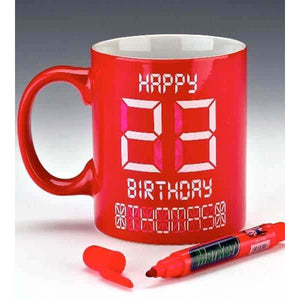Happy Birthday Digital Mugs