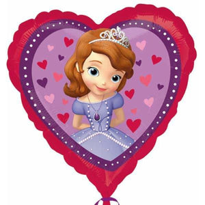 Disney Sofia The First Love Foil Balloon