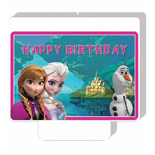 Disney Frozen Happy Birthday Candle x1