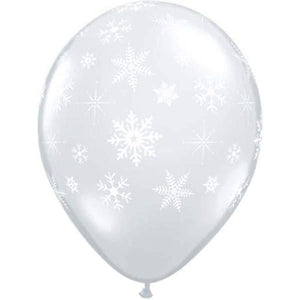 Snowflakes And Sparkles Diamon Clear Latex x50