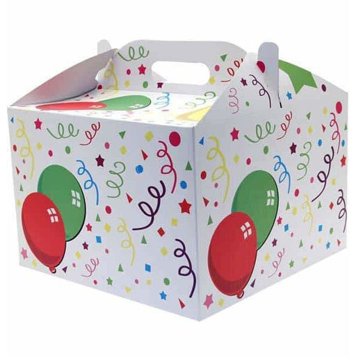 Open Party Carry Handle Balloon Box