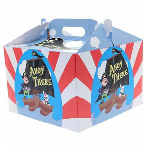Pirate Party Carry Handle Balloon Box