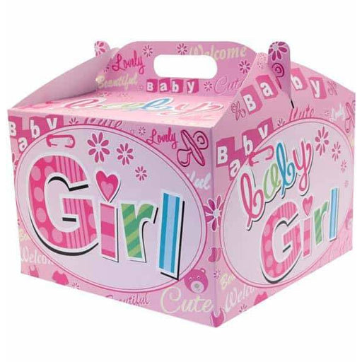 New Baby Girl Carry Handle Balloon Box