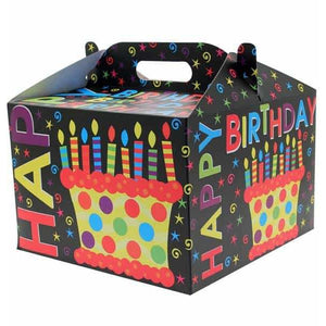 Happy Birthday Carry Handle Balloon Box