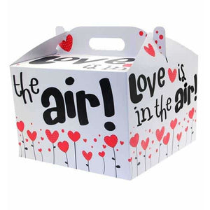 Love Is In The Air Carry Handle Balloon Box