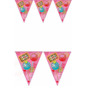 Sweet Valentine Flag Banner - mypartymonsterstore