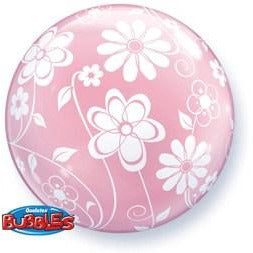 Floral Patterns Deco Bubble Balloon - mypartymonsterstore