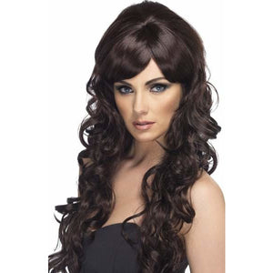 Female Long Brown Cheryl Wig