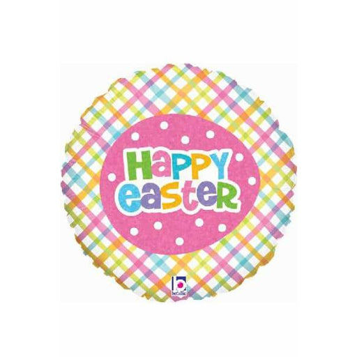 Spring Time Easter Plaid Balloons