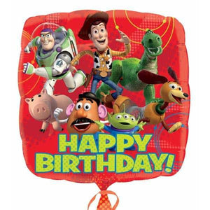 Toy Story Gang Happy Birthday Foil Balloon