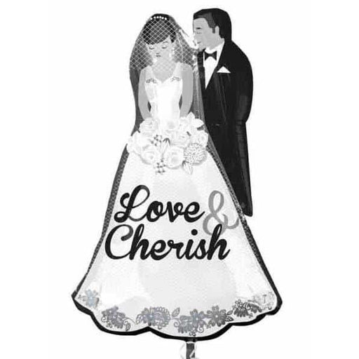 Love And Cherish Supershape Balloon