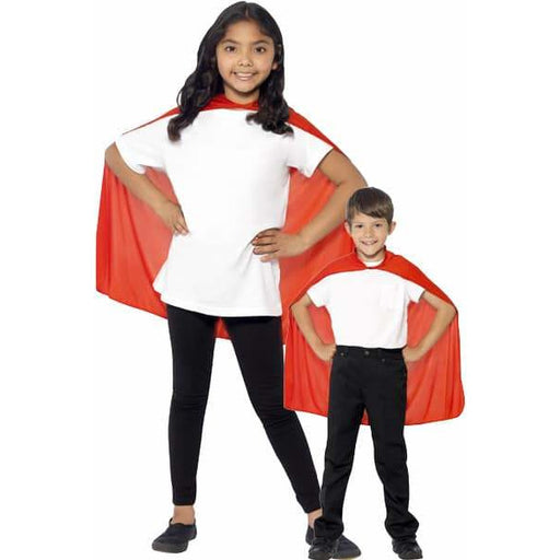 Red Mid Length Childrens Cape