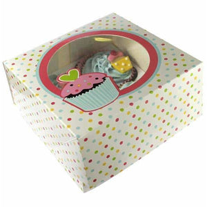 Sweet Treats Cupcake Boxes x2 - mypartymonsterstore