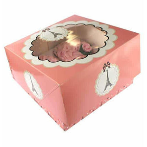 Parissienne Cupcake Boxes x2 - mypartymonsterstore