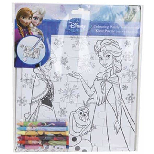 Disney Frozen Colour Puzzle