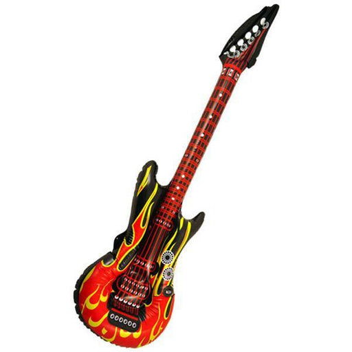 Flame Inflatable Guitar