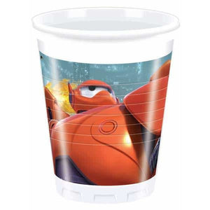 Disney Big Hero 6 Plastic Cups 8pk