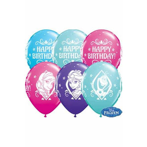 Disney Frozen Birthday Balloons 25pk