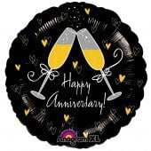 Happy Anniversary Foil Balloon - mypartymonsterstore
