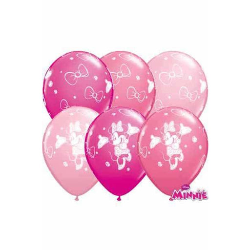 Minnie Mouse Balloons 25pk