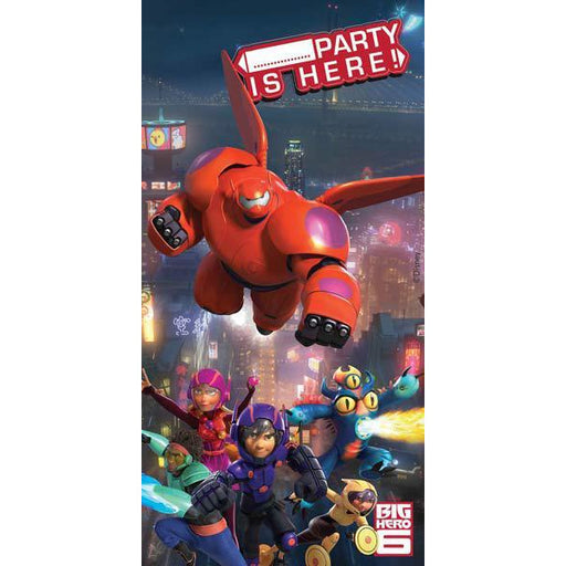 Disney Big Hero 6 Party Door Banner