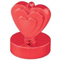 Red Heart Balloon Weights