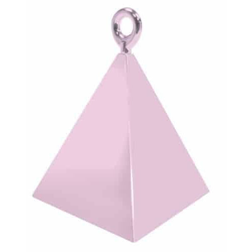 Pearl Pink Pyramid Balloon Weight