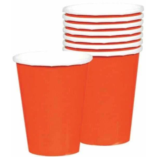 Orange Peel Paper Cups 8pk