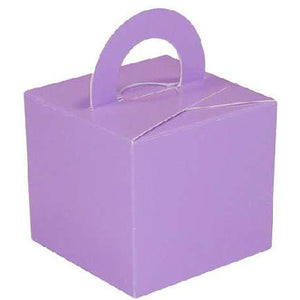 Lilac Bouquet Box x 10 - mypartymonsterstore