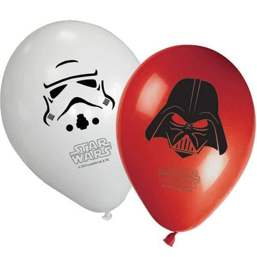 Star Wars Assorted Latex Balloons x8