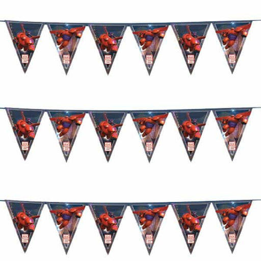 Disney Big Hero 6 Plastic Flag Banner