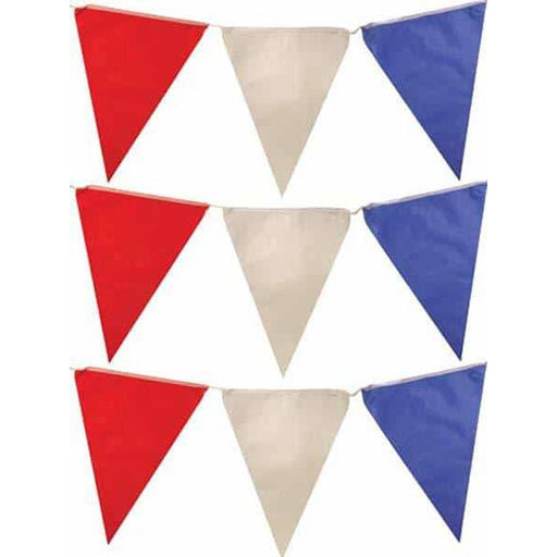 Red White And Blue Nylon Bunting