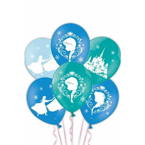 Frozen Latex Balloons 6pk