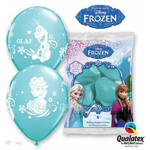 Disney Frozen Latex Balloons 6pk