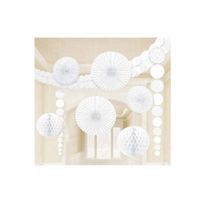 White Party Decoration Kits - mypartymonsterstore