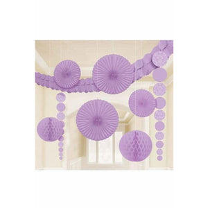 Lilac Party Decoration Kits - mypartymonsterstore